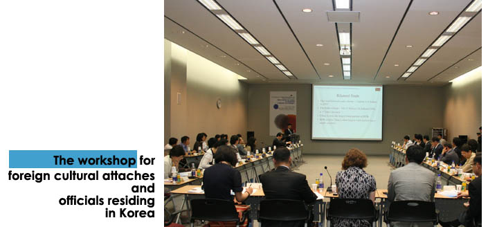 Workshop for resident officers in Korea
